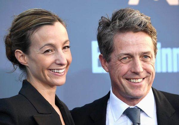 Hugh Grant married Swedish actress Anna Eberstein