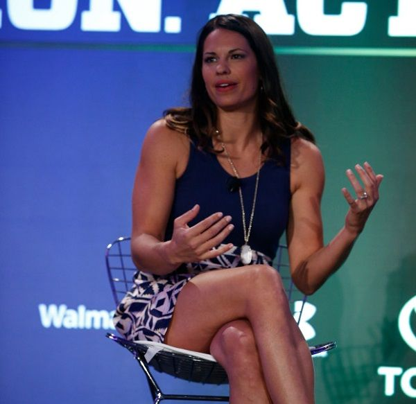 Jessica Mendoza during The espnW