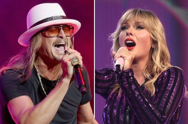 Kid Rock after Taylor Swift