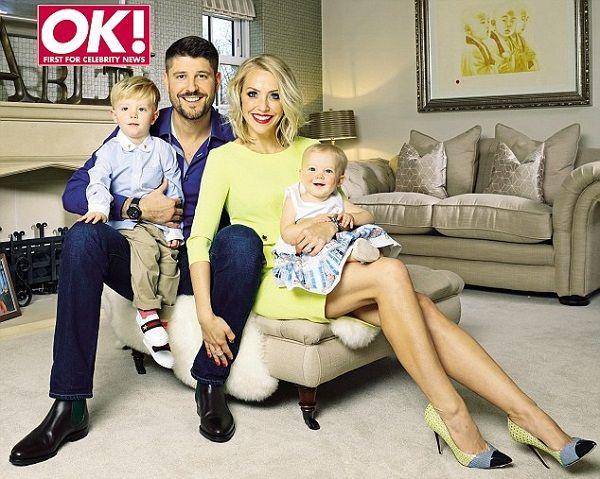 Laura Hamilton and her family