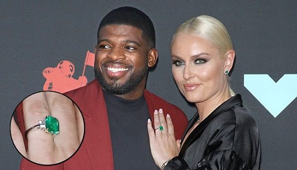 Lindsey Vonn and P.K. Subban on VMAs