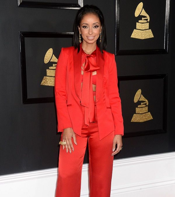 MYA at 59th Annual Grammy Awards in Los Angeles