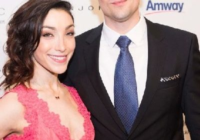 "Meryl Davis and Fedor Andreev walks down the aisle! She says, ""to celebrate us and this time in our lives — just means so much"""