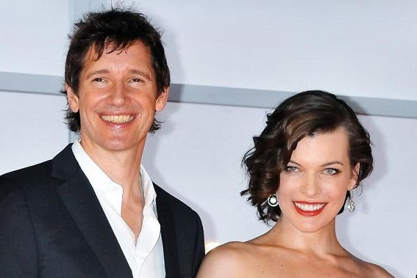 Milla Jovovich and her husband Paul Anderson