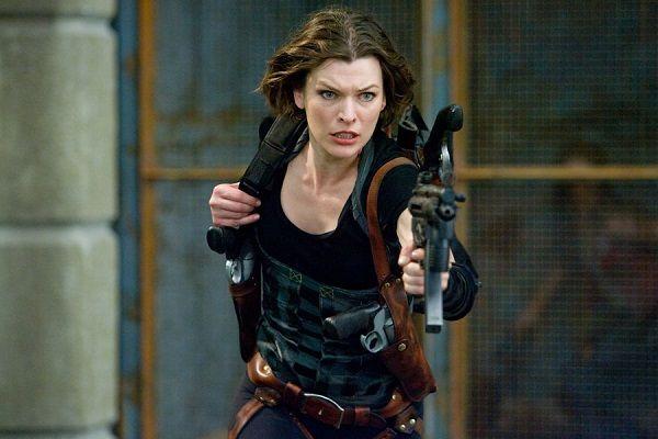Milla Jovovich on Resident Evil