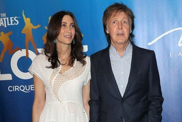 Nancy Shevell and her husband Paul McCartney