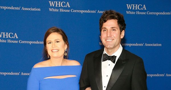 Sarah Sanders and her husband Bryan Sanders