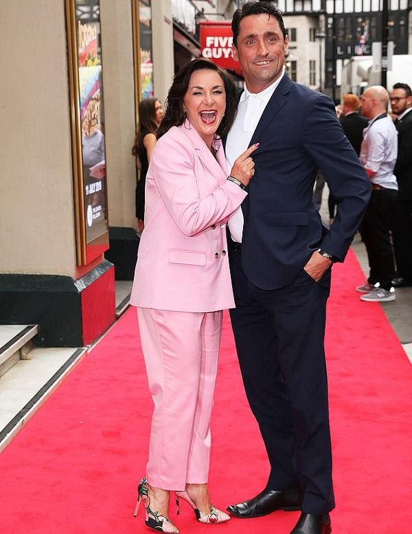 Shirley Ballas and Danny Taylor red carpet debut