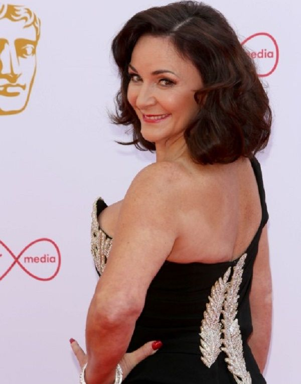 Shirley Ballas over shoulder