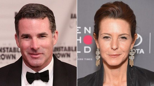 Stephanie Ruhle and Kevin Plank