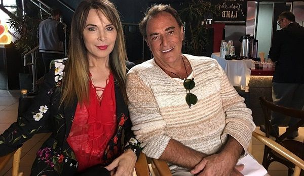 Thaao Penghlis and Lauren Koslow