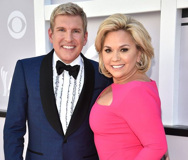 Todd Chrisley and his wife Julie Chrisley