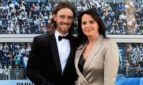 Tommy Fleetwood and his wife Clare Fleetwood