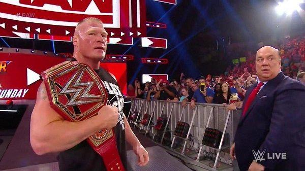 WWE wrestler Brock Lesner