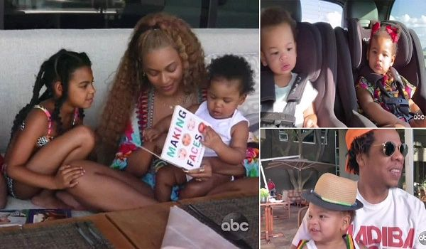 Beyonce and family enjoying time in Africa