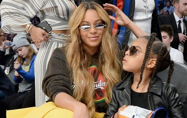 Blue Ivy spending quality time with mom Beyonce