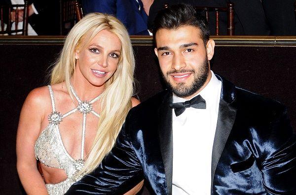Britney Spears and her boyfriend Sam Asghari