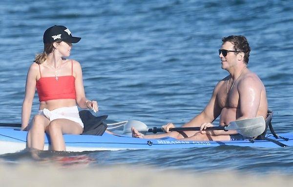 Chris Pratt enjoying vacation with Katherine Schwarzenegger