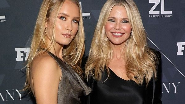 Christie Brinkley and her daughter Sailor Cook Brinkley