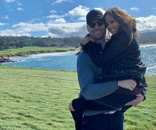 Jana Kramer with her husband Mike Caussin