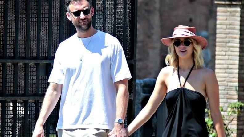 Jennifer Lawrence-and Cooke Maroney