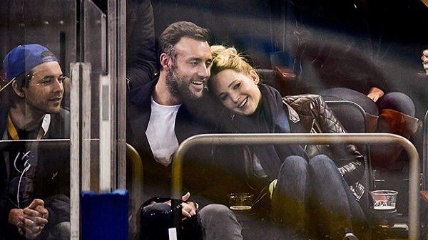 Jennifer Lawrence enjoying date with fiancee Cooke Maroney