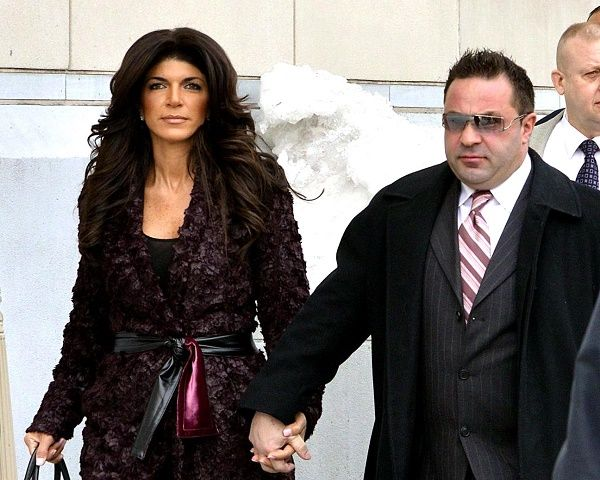 Joe Giudice and Teresa Giudice at Court