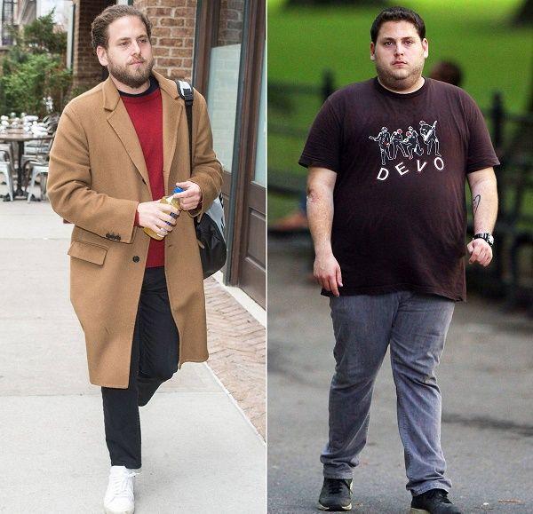Jonah Hills' body transformation