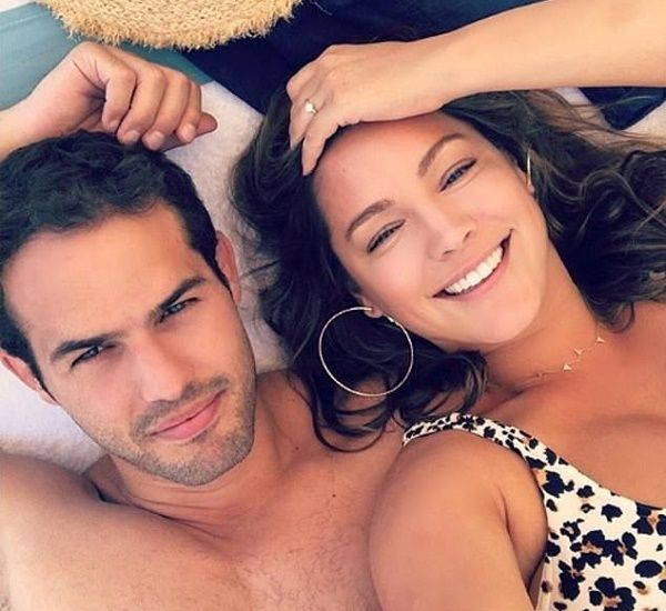 Kelly Brook and boyfriend Jeremy Parasi