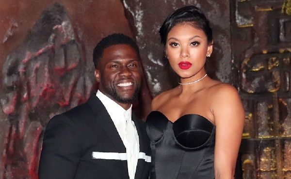 Kevin Hart and his wife Eniko Parrish
