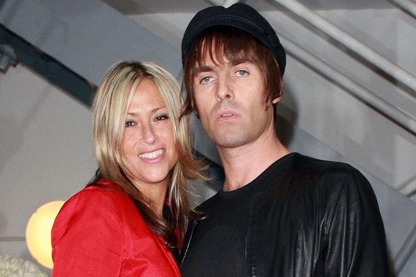 Liam Gallagher and hir ex-wfie Nicole Appleton