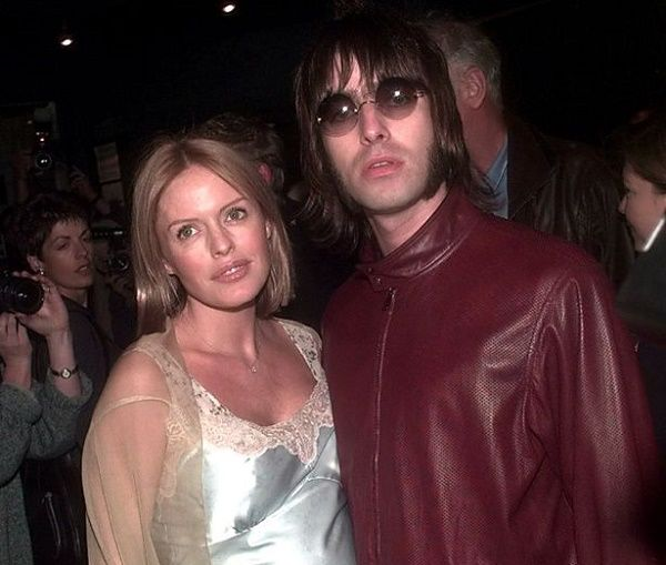 Liam Gallagher and his ex-wife Patsy Kensit