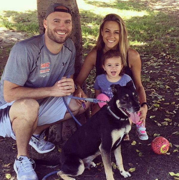 Mike and Jana with daughter Jolie