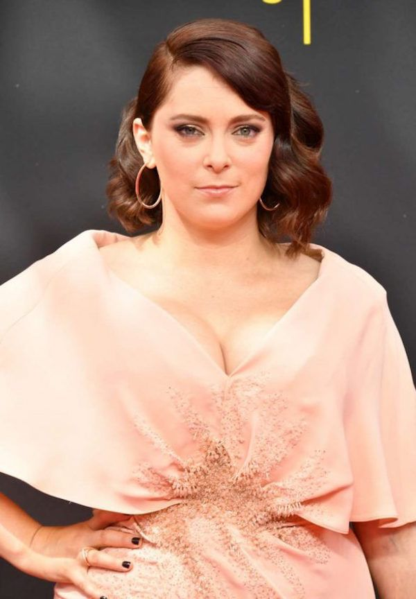 Rachel Bloom announces pregnancy backstage at Emmys