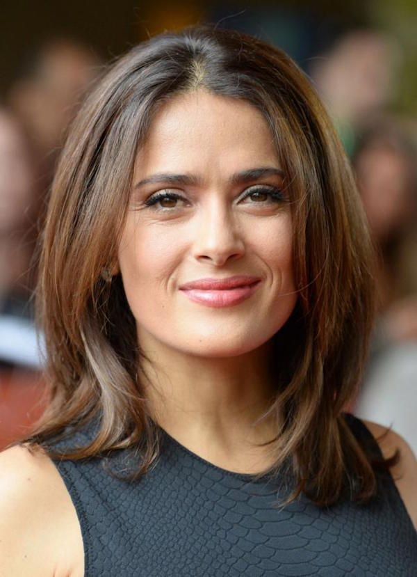 Salma Hayek against plastic surgery