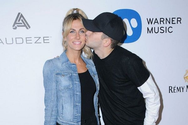Tyler Joseph and his wife Jenna Joseph