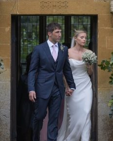 The countryside nuptials! Rugby player Gavin Henson married to Katie Wilson Mould!