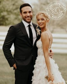 Country singer Tyler Rich and actress Sabina Gadecki are married in Tennessee this Friday 20 September 2019!