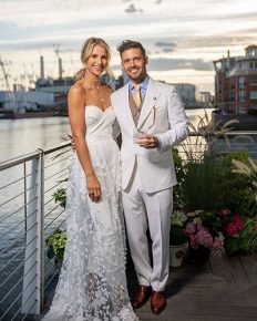 Vogue Williams and Spencer Matthews have a lavish second wedding for friends who could not make it to their first wedding!