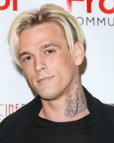 Aaron Carter debuts a new face tattoo: Tattoo artist tried to stop him!!
