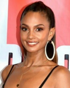 Alesha Dixon shares picture of her 7-week old second daughter with husband Azuka Ononye on Instagram!