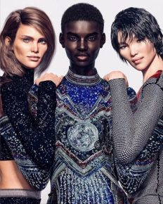 CGI models ruling the Fashion World! Non-bio models to replace human models? Is this the new Future?