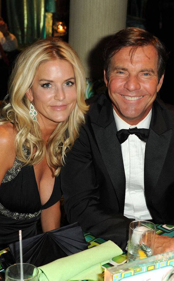 Dennis Quaid and his former wife Kimberly