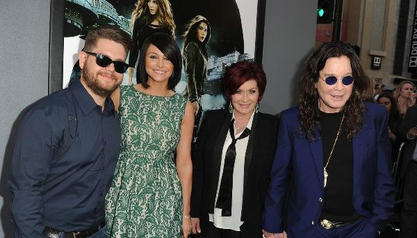 Jack and Lisa with parents Sharon and Ozzy Osbourne