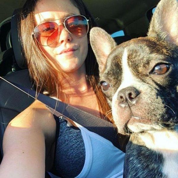 Jenelle's husband shot dead their family dog