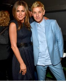 Jennifer Aniston and Ellen DeGeneres shared a memorable friendship with a kiss on The Ellen DeGeneres Show!