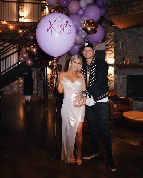 Kane Brown revealed daughter's name during baby shower