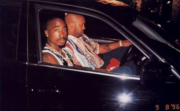 Last picture of Tupac before he died
