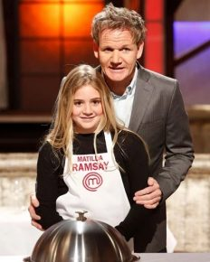 Matilda, the daughter of chef Gordon Ramsay is dating the son of chef Gino D'Acampo, Luciano!