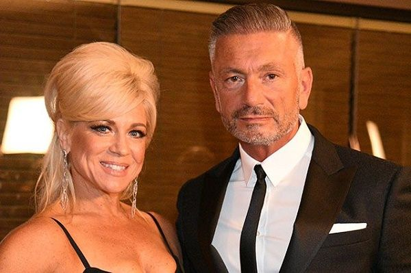 Theresa Caputo with ex-husband Larry Caputo